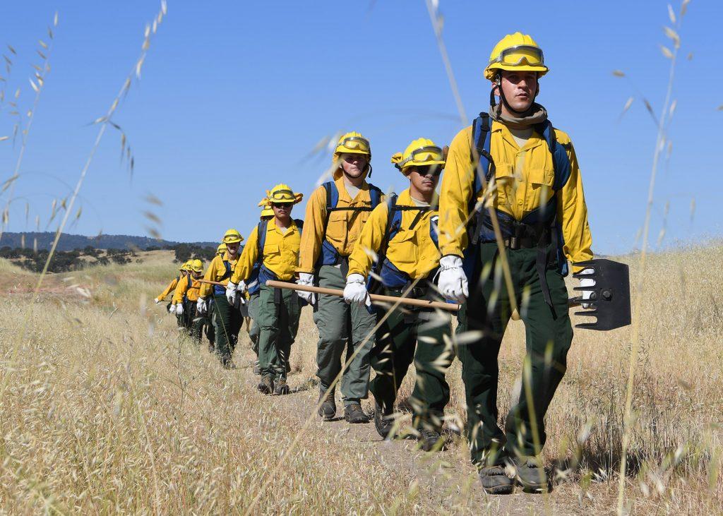 CSG fire hand crew